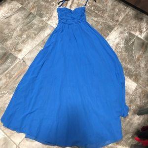 Royal blue bridesmaid/formal dress